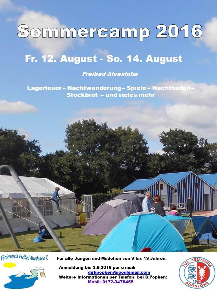Sommercamp 2016 12.- 14. August